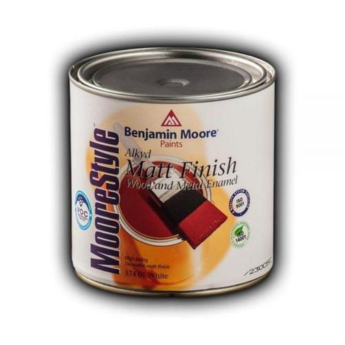 Benjamin Moore 574 MooreStyle Wood & Metal Matt Finish Αλκυδική Ριπολίνη Ματ
